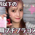 【1000円以下】おすすめプチプラコスメ☆ドラッグストア・ドンキで買える!