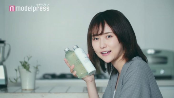 まつきりな、髪に悩みを抱える女性演じる パーソナライズヘアケア「MEDULLA」TVCM